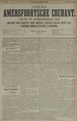 Nieuwe Amersfoortsche Courant 1883-03-24