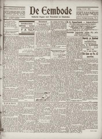 De Eembode 1933-06-13