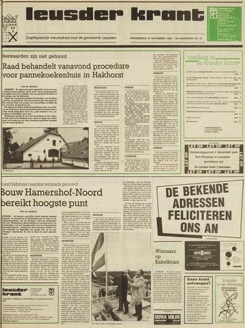 Leusder Krant 1986-11-27