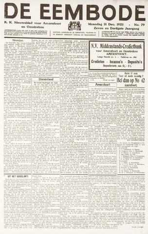 De Eembode 1923-12-31