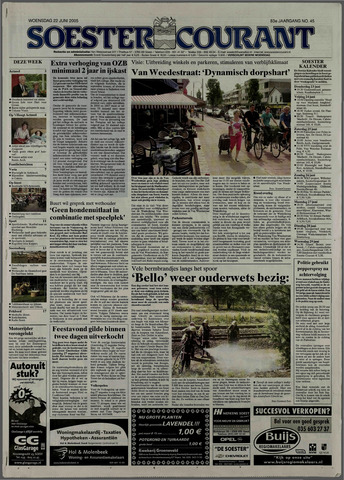 Soester Courant 2005-06-22