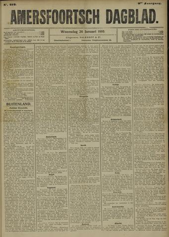 Amersfoortsch Dagblad 1910-01-26