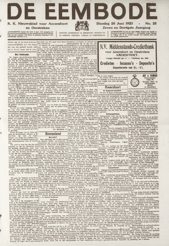 De Eembode 1923-06-26