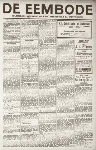 De Eembode 1921-07-01
