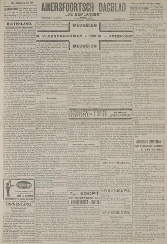 Amersfoortsch Dagblad / De Eemlander 1920-10-27