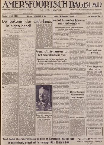Amersfoortsch Dagblad / De Eemlander 1940-07-06