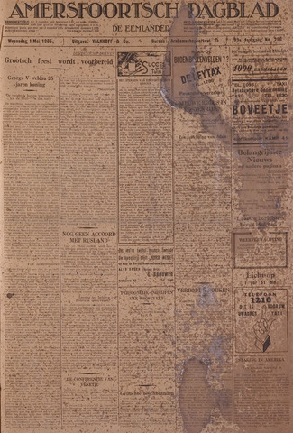 Amersfoortsch Dagblad / De Eemlander 1935-05-01