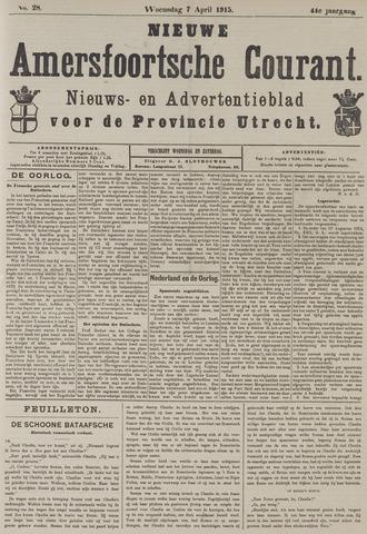 Nieuwe Amersfoortsche Courant 1915-04-07