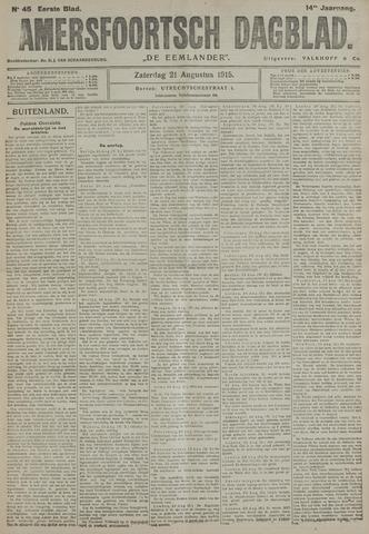 Amersfoortsch Dagblad / De Eemlander 1915-08-21