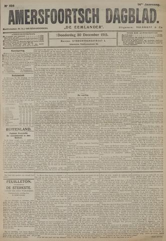 Amersfoortsch Dagblad / De Eemlander 1915-12-30