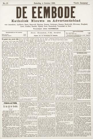 De Eembode 1890-10-04