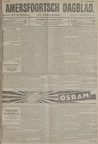 Amersfoortsch Dagblad / De Eemlander 1917-02-20