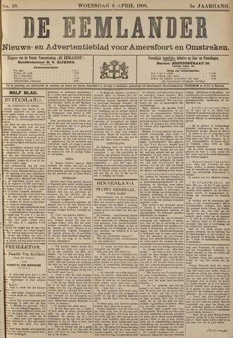 De Eemlander 1908-04-08