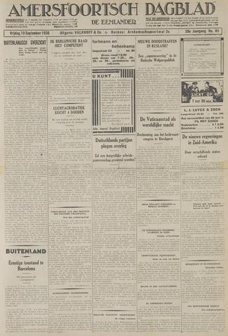 Amersfoortsch Dagblad / De Eemlander 1930-09-19