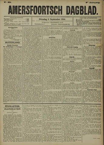 Amersfoortsch Dagblad 1910-09-06