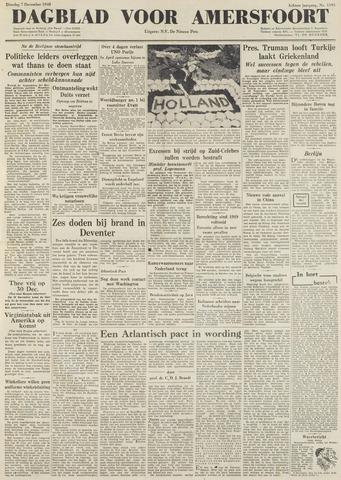 Dagblad voor Amersfoort 1948-12-07
