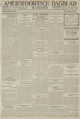 Amersfoortsch Dagblad / De Eemlander 1929-03-18