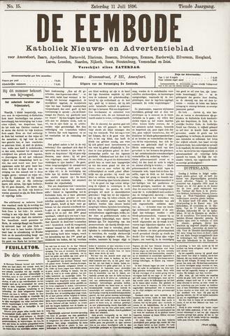 De Eembode 1896-07-11