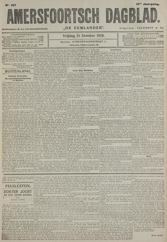 Amersfoortsch Dagblad / De Eemlander 1913-10-31