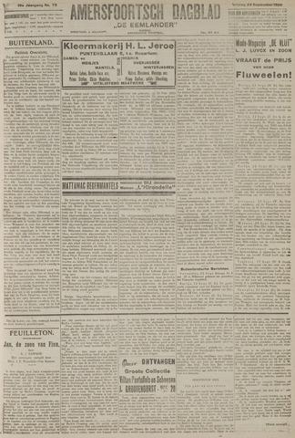 Amersfoortsch Dagblad / De Eemlander 1920-09-24