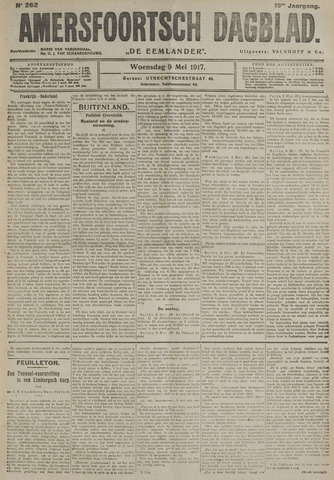 Amersfoortsch Dagblad / De Eemlander 1917-05-09