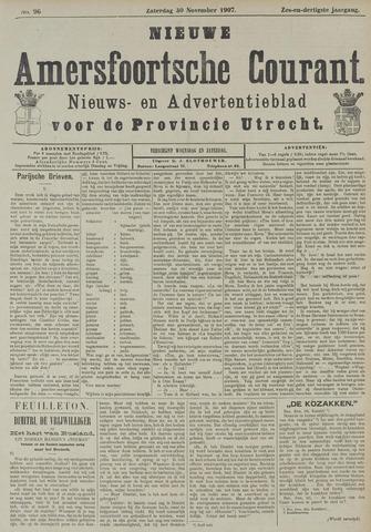 Nieuwe Amersfoortsche Courant 1907-11-30