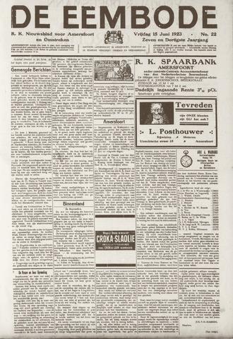 De Eembode 1923-06-15