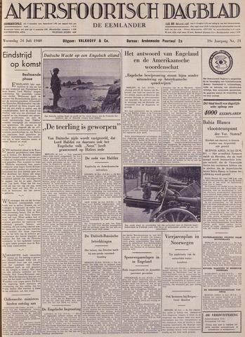 Amersfoortsch Dagblad / De Eemlander 1940-07-24