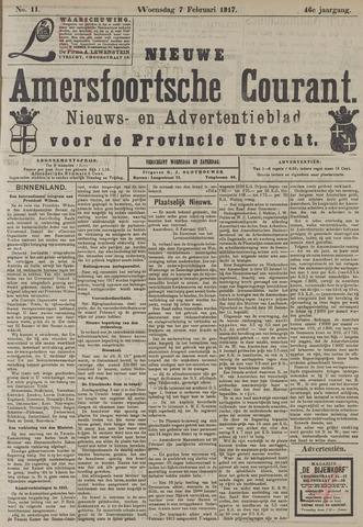 Nieuwe Amersfoortsche Courant 1917-02-07