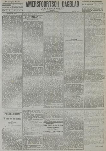 Amersfoortsch Dagblad / De Eemlander 1921-11-10