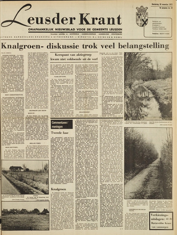 Leusder Krant 1972-11-30