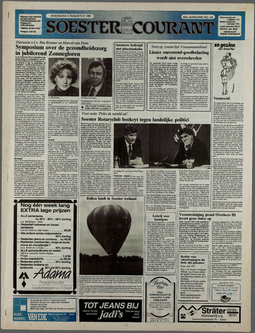 Soester Courant 1987-08-05