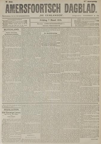 Amersfoortsch Dagblad / De Eemlander 1913-03-07