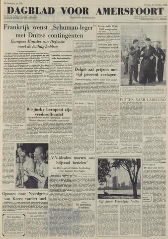Dagblad voor Amersfoort 1950-10-24