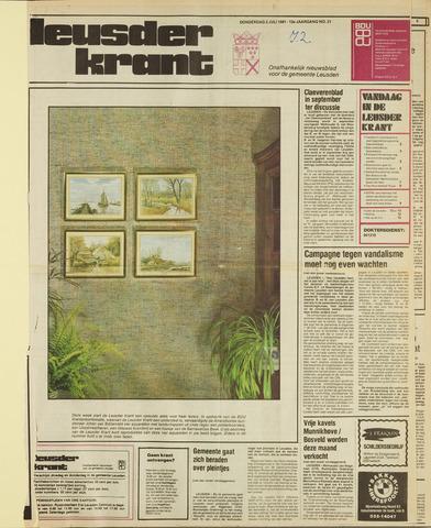 Leusder Krant 1981-07-02