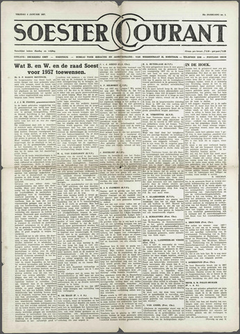 Soester Courant 1957-01-04