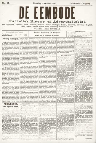 De Eembode 1903-10-03