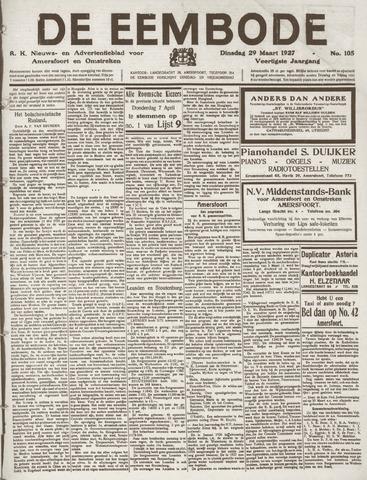 De Eembode 1927-03-29