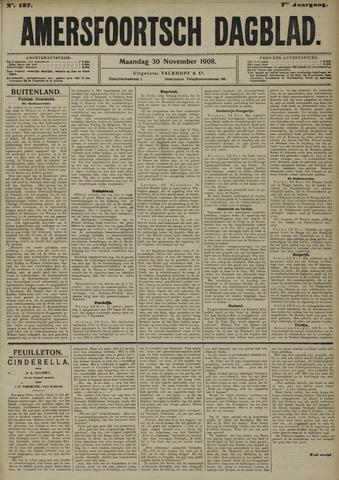 Amersfoortsch Dagblad 1908-11-30