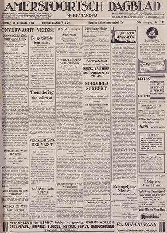 Amersfoortsch Dagblad / De Eemlander 1937-12-11