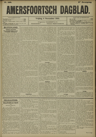 Amersfoortsch Dagblad 1910-11-04
