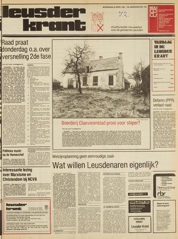 Leusder Krant 1981-04-22