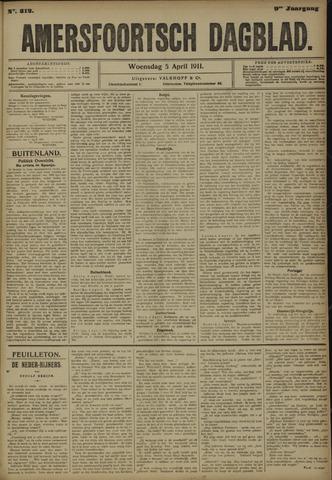 Amersfoortsch Dagblad 1911-04-05