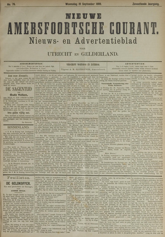 Nieuwe Amersfoortsche Courant 1888-09-19