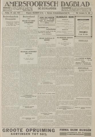 Amersfoortsch Dagblad / De Eemlander 1931-06-26