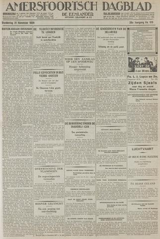 Amersfoortsch Dagblad / De Eemlander 1929-11-21