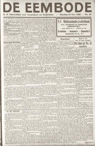 De Eembode 1922-10-10