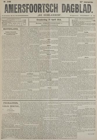 Amersfoortsch Dagblad / De Eemlander 1914-04-16