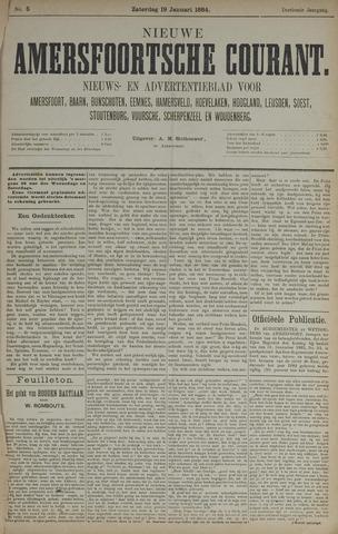 Nieuwe Amersfoortsche Courant 1884-01-19