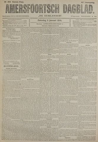 Amersfoortsch Dagblad / De Eemlander 1914-01-03